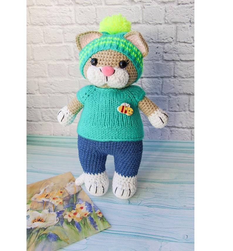 Amigurumi Cat Crochet Pattern #crochetpattern #amigurumi #ad #cat | Gatos  de crochê, Amigurumi de animais de crochê, Bonecas de crochê | 857x794