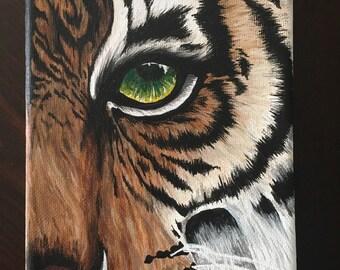 Tiger Acrylic on Canvas
