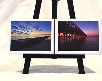 10 Blank Note/Greeting Cards - Marshfield, MA, Duxbury, MA and Nautical Scenes