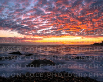 Brant Rock Sunrise, Marshfield, MA Photograph