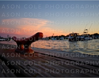Green Harbor Dock, Marshfield, MA Photograph