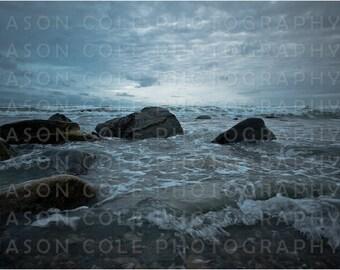 Brant Rock Storm, Marshfield, MA Photograph