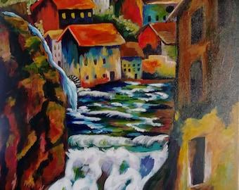 Village Waterfalls