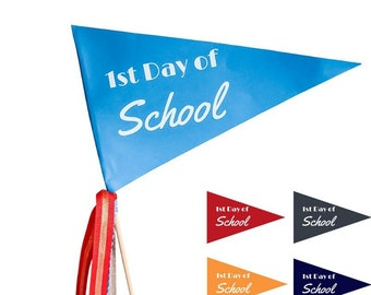 First Day of School Printable Flag