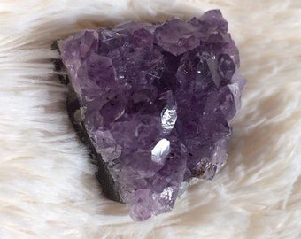 Amethyst cluster raw crystal quartz healing pagan wicca wiccan witch crystals crystal healing reiki  rough crystal natural nature witchy