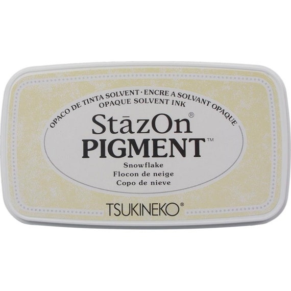 Tsukineko SZPIG-031 StazOn Pigment Ink Pad-Piano Black
