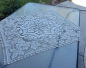 Lace Crochet pattern tablecloth