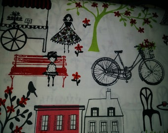 Springtime in Paris fabric bthy