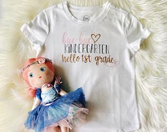 Kindergarten to 1st Grade |Kindergarten Graduation Shirt| Kindergarten| First Grade