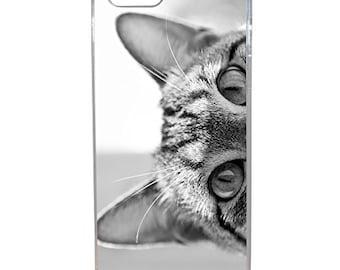 Hard Case Design Grey Cat Eyes For Apple Iphone Se