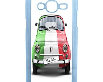 Hard Case Design Fiat Italy For Samsung Galaxy J3 2016