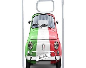 Hard Case Design Fiat Italy For Samsung Galaxy S6 Edge Plus