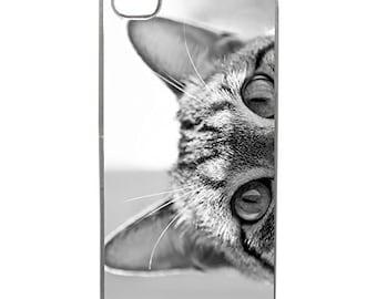 Hard Case Design Grey Cat Eyes For Apple Iphone 4 - 4s