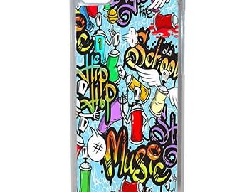 Hard Case Design Tags Graffiti For Apple Iphone 8 Plus