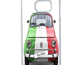 Hard Case Design Fiat Italy For Samsung Galaxy S8 Plus