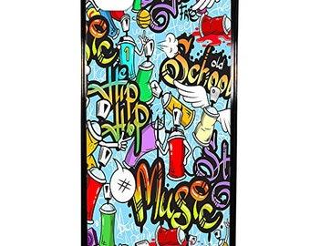 Hard Case Design Tags Graffiti For Apple Iphone 4 - 4s
