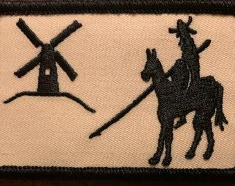 "Don Quixote morale patch 2H"" x 3W"""