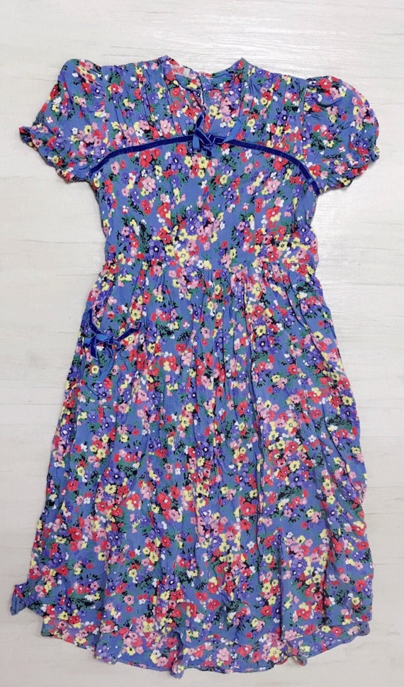 vintage late 1930s early 1940s dress size XS