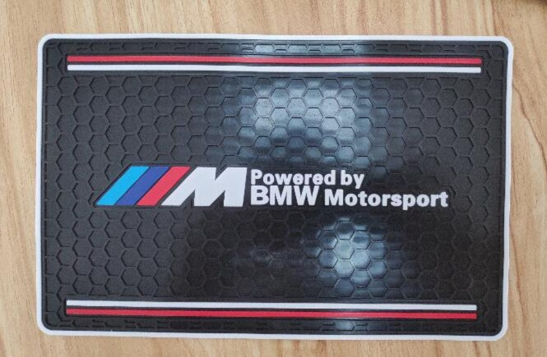 Bmw M Sport Car Anti Slip Grip Dash Mat Accessories 1 2 3 4 5 6 7 Series M1 M2 M3 M4 M5 M6 X3 X4 X5 X6 Z3 Z4