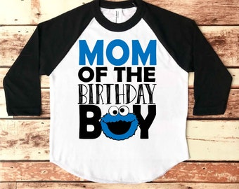 Cookie Monster 1st Birthday, Cookie Monster, Cookie Monster Birthday Shirt, First Birthday, 1st Birthday, Cookie Monster Party, Baby Boy