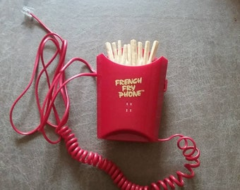 Vintage 1993 Kingsway French Fry phone