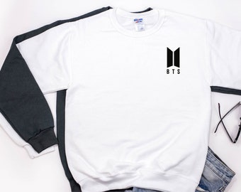 BTS Sweatshirt, BTS Army Sweatshirt, Bangtan Boys Sweatshirt, BTS K-pop Sweatshirt, Kpop Sweater
