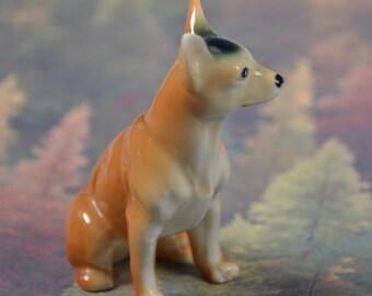 """eb2966 Chihuahua Porcelain Pottery Vintage 3"""" Dog Figurine"""