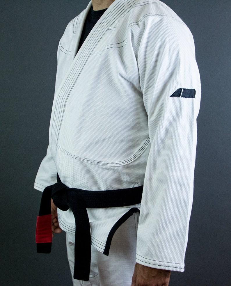 BJJ Observer Brazilian Jiu Jitsu Gi White and Black trim