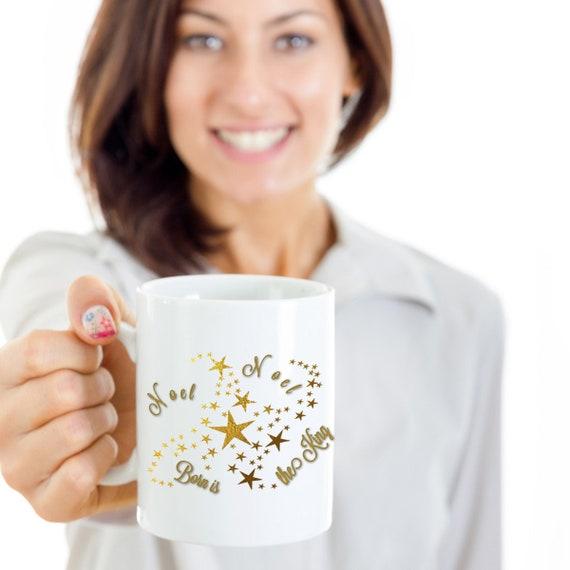 Image De Noel Jesus.Noel Jesus Holiday Mugs Christmas Coffee Cups Christian Mugs Uplifting Unique Mugs The King Faith Mug Christmas Mugs Gift For Grandma Mugs