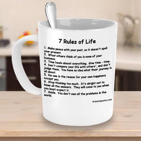 Die 7 regeln des lebens