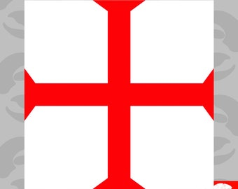 Others Knights Templar Shield Decal Sticker For Car Truck Window