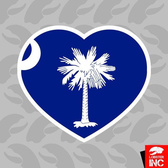 South Carolina Native Sticker Decal Vinyl SC pride