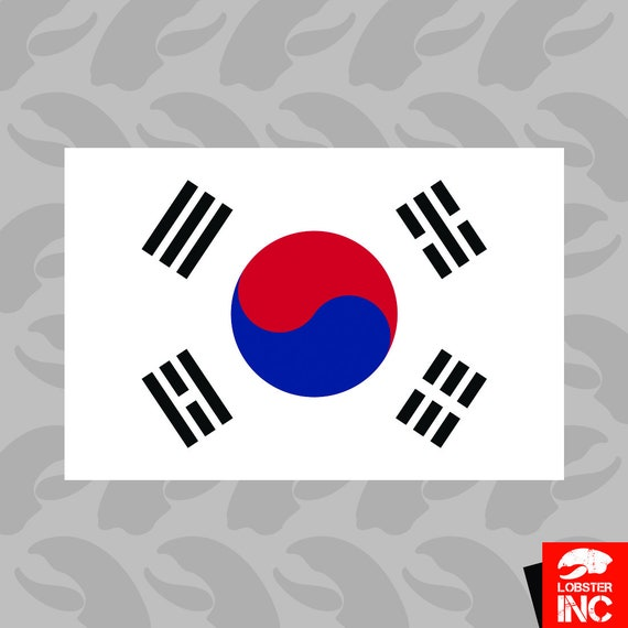 SOUTH KOREA LAMINATED CAR SELF ADHESIVE VINYL DECAL STICKER NEW