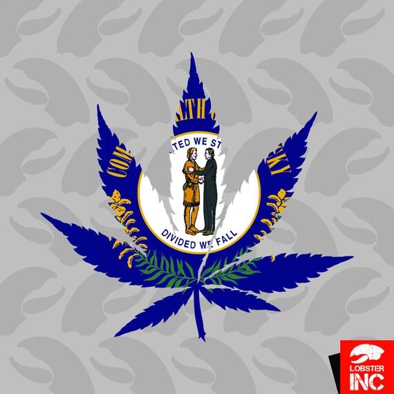 Oregon Flag Weed Marijuana Leaf Sticker Decal Vinyl 420 hemp