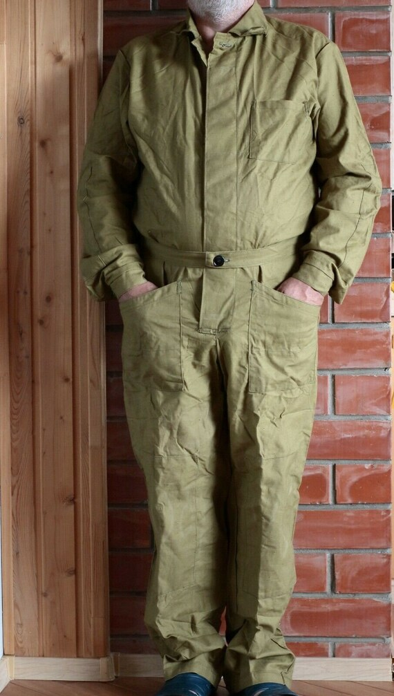 Russian Soviet military army jumpsuit pants, USSR.
