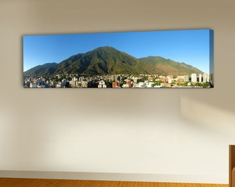 Box Avila Caracas on canvas printed canvas