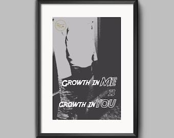 Inspirational Digital Art, Print, Black and White, Inspirational Wall Art, Inspirational Quote, For Young Boy, Bedroom Decor, Classroom