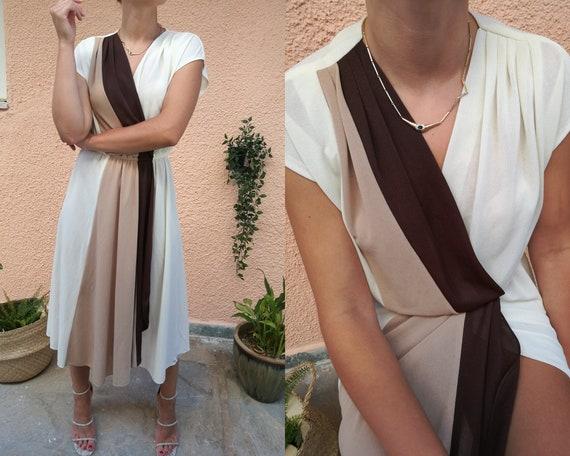 Vintage White Maxi Dress, 90s Clothing