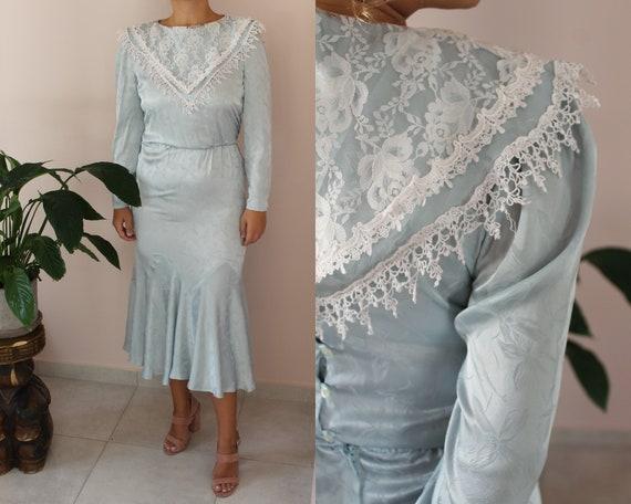 Vintage 70s Gunne Sax Prairie Dress by Jessica McC