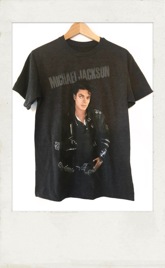 a5ce0843905bd Michael Jackson Billy Jean Bad T Shirt offically licensed