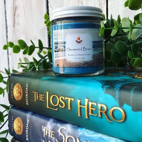 Percy Jackson Inspired Candles