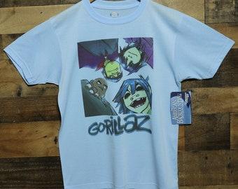 fbb0992b Authentic Vapor Apparel American BackCountry Gorillaz Virtual Band Members  100% Moisture Wicking Performance Graphic Tee T-Shirt