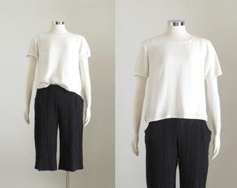 9f58b154ea25cf White Short Sleeve Blouse