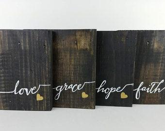 Love • Grace • Hope • Faith