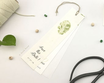 Save the Date of wedding stationery fasion •• plant!