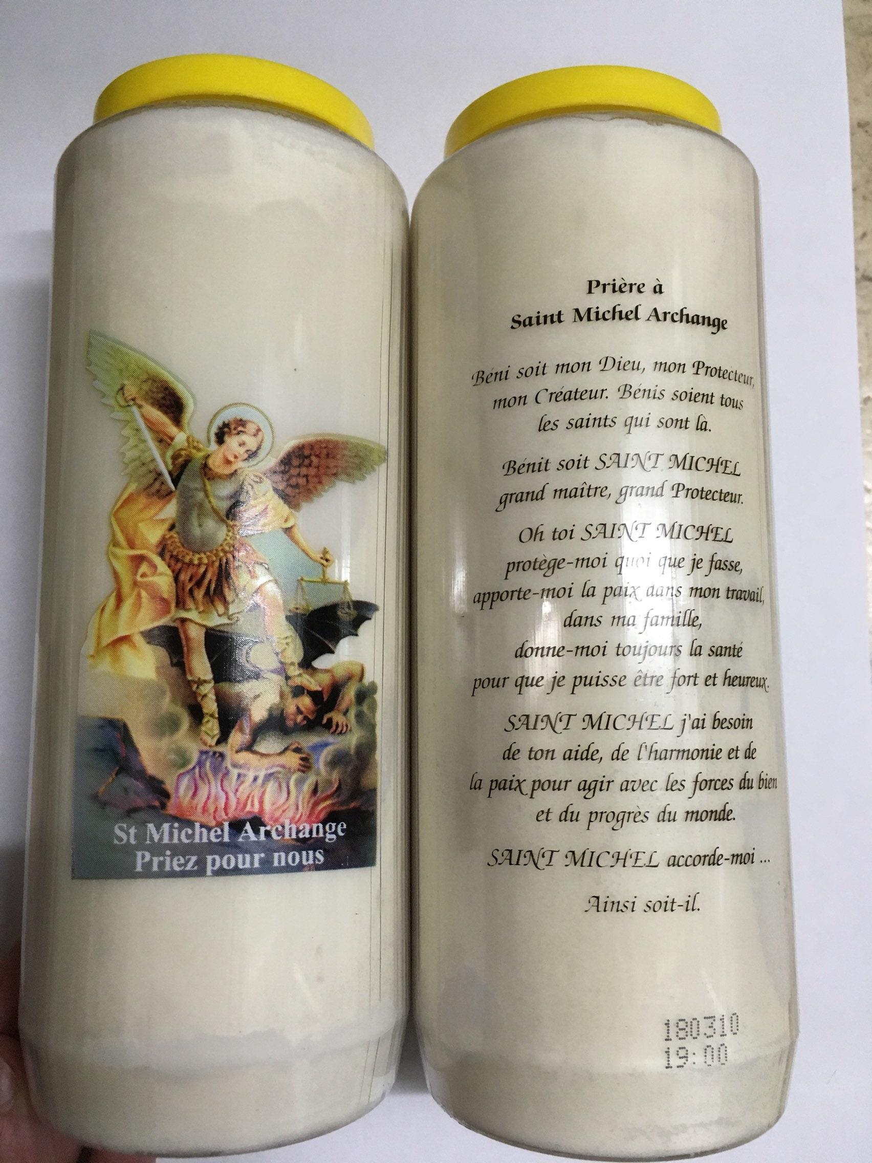 Lot of 3 Novenas Saint Michael Archangel Pray for us