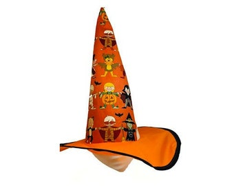 Kids Boo Witch Hat #1
