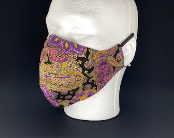 Exclusive Japanese Fabric Print Face Mask