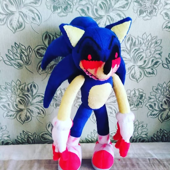 Custom Made Plush Inspired By The Sonic E X E Plush Toy To Etsy