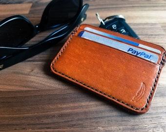 Tan card holder | Etsy